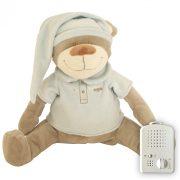 Медведь Doodoo синего цвета + сменная мягкая игрушка