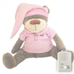 Медведь Doodoo розового цвета + сменная мягкая игрушка