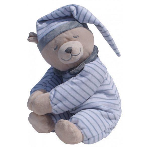 Медведь Doodoo серого цвета в полоску