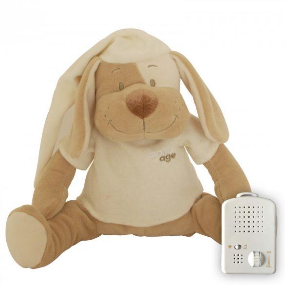 Собака Doodoo бежевого цвета + сменная мягкая игрушка