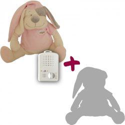 Собака Doodoo розового цвета + сменная мягкая игрушка