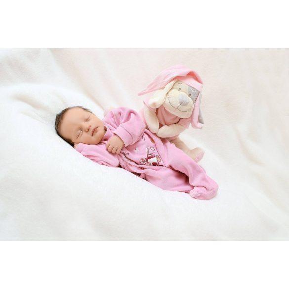 Сменная мягкая игрушка «Собака» Doodoo розового цвета
