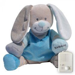 Сменная мягкая игрушка «Зайчик» Doodoo синего цвета