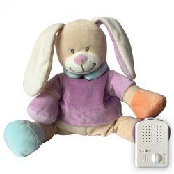 Сменная мягкая игрушка «Зайчик» Doodoo сиреневого цвета