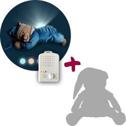 Медведь Doodoo бирюзового цвета / с лампой + сменная мягкая игрушка