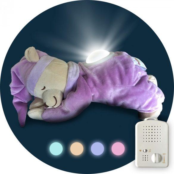 Медведь Doodoo сиреневого цвета с лампой