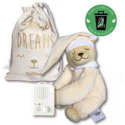 Сменная мягкая игрушка «Медведь» Doodoo цвета ванили / без лампы