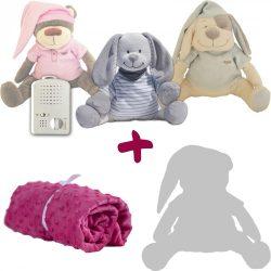 Эксклюзивное весеннее предложение! Лимитированная серия: зайчик + одеяло + сменная мягкая игрушка в подарок