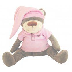Сменная мягкая игрушка «Медведь» Doodoo розового цвета