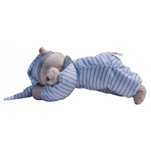 Сменная мягкая игрушка «Медведь» Doodoo серого цвета в полоску