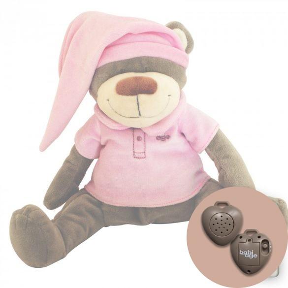 Doodoo szünetmentes audio + Doodoo maci rózsaszín