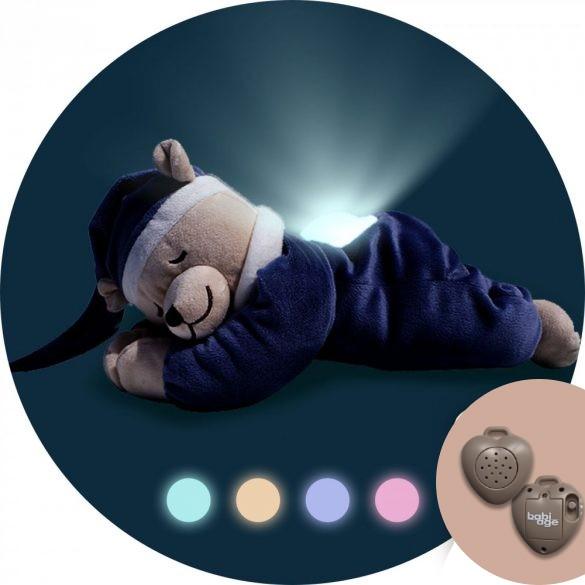 Doodoo szünetmentes audio + Doodoo lámpás maci farmerkék